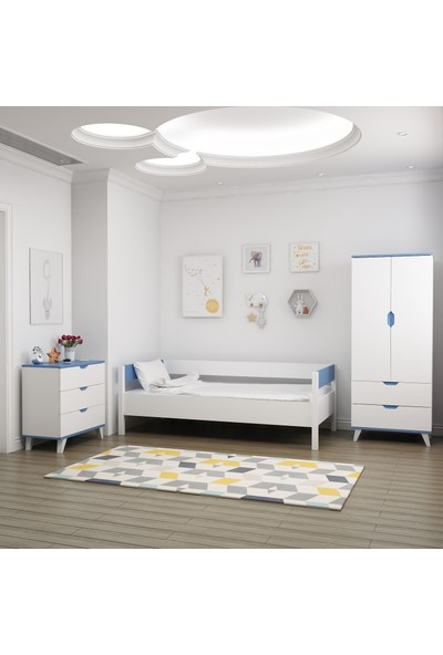 İnarch Dizayn Blue Genç Odası