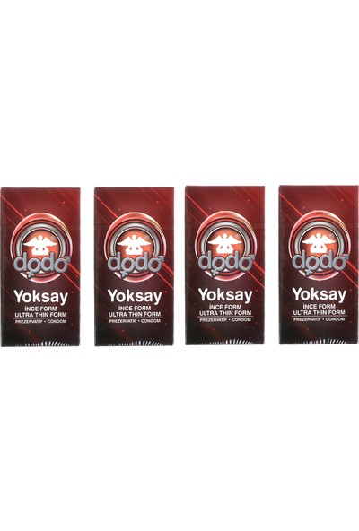 Dodo Yoksay Prezervatif 4 Kutu 48'li