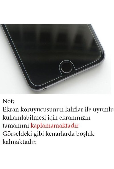 Zore LG x Cam Maxi Glass Temperli Cam Ekran Koruyucu