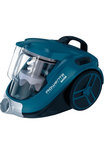 Rowenta RQ3733TR Compact Power Cyclonic Toz Torbasız Elektrikli Süpürge [ Mavi ] - 9100037858
