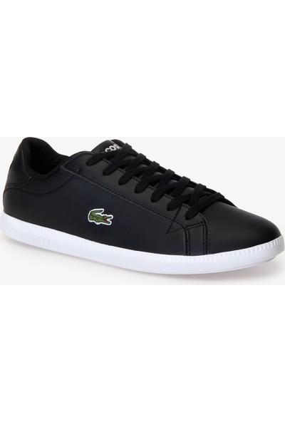 Lacoste Graduate BL 1 Erkek Siyah - Beyaz Sneaker 737SMA0053.312
