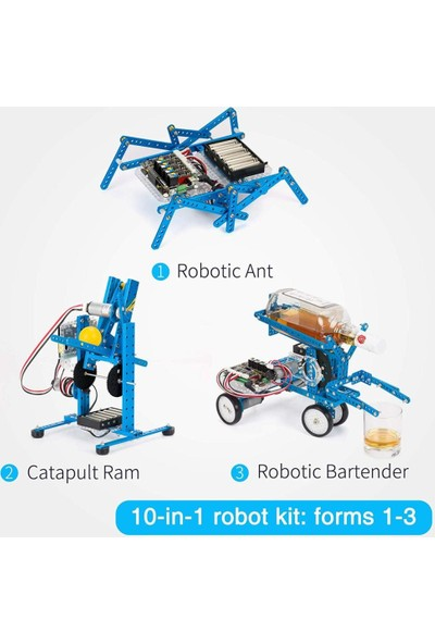 Makeblock Dıy Ultimate Robot Kiti Üstün Kalite 10'u 1 Arada Robot