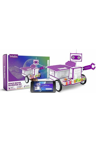 Littlebits Space Rover Inventor Kit Oluşturma ve Kontrol