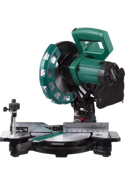 VONROC Lazerli Radyal Gönye Testere - 1700W - 216mm - 40 Diş