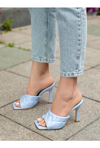 My Poppi Shoes Bebe Mavisi Kadın Terlik Jamaika