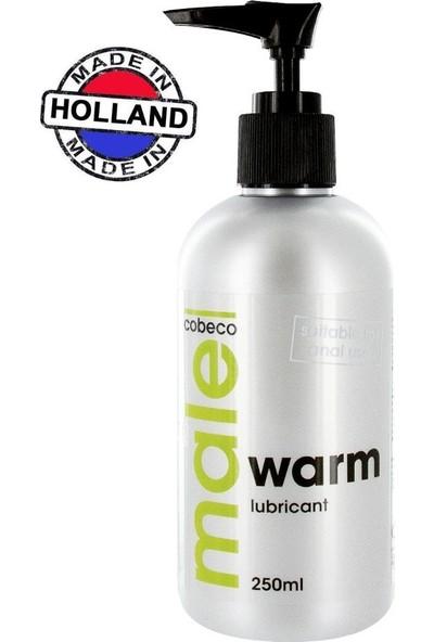 Cobeco Male Warm Lubricant 250 ml Etkili Kayganlaştırıcı