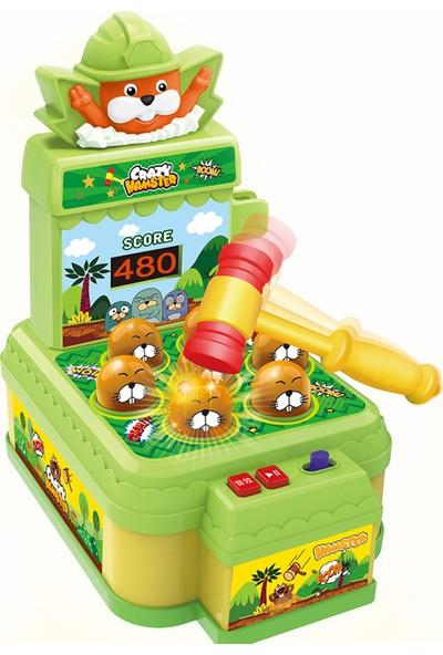 Yukka Hamster Kafalar Oyunu Çocuklar İçin El Göz Kordinasyonu Oyunu