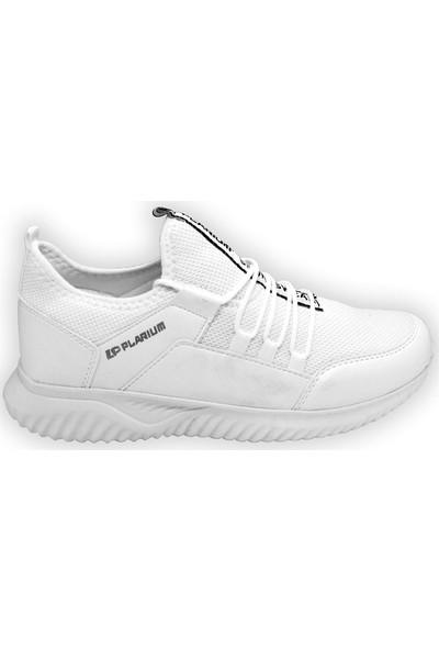 Pabucchi Plarium 104 Beyaz-Siyah Günlük Erkek Spor ve Koşu Ayakkabısı