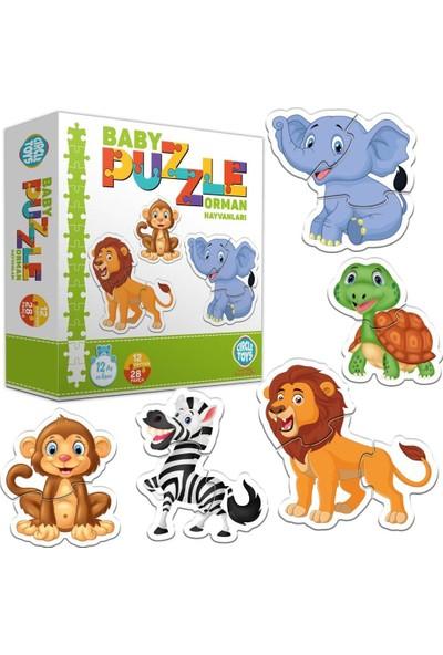 Circle Toys Baby Puzzle Orman Hayvanları