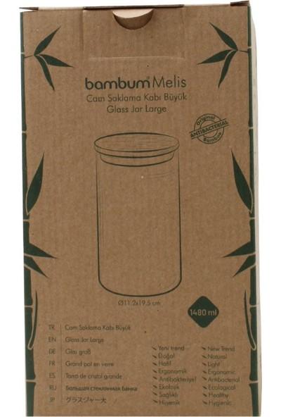 Bambum 12'li Melis Cam Saklama Kabı
