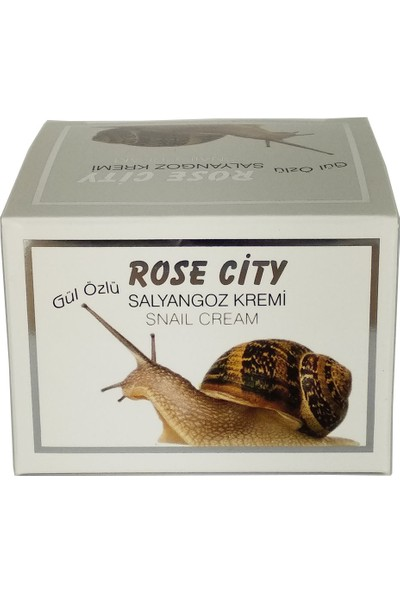 Rosecity Gül Özlü Salyangoz Kremi 60 ml