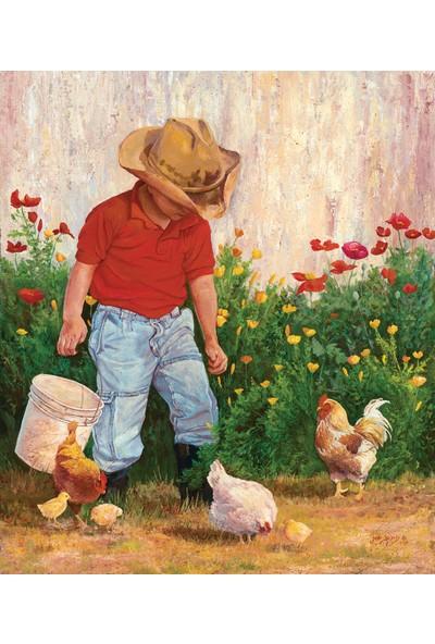 Sunsout Country Boy 550 Parça Puzzle