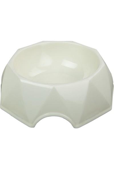 Bobo Düz Renk Şekilli 250 ml Plastik Mama Kabı