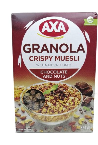 Axa Çikolatalı ve Yemişli Çıtır Müsli 375 gr