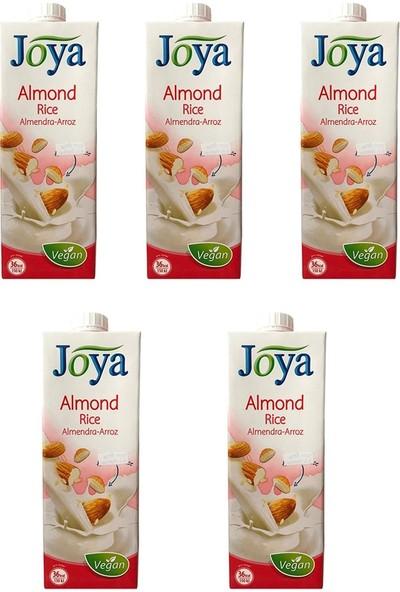 Joya Bademli Pirinçli Süt 1 Lt x 5'li