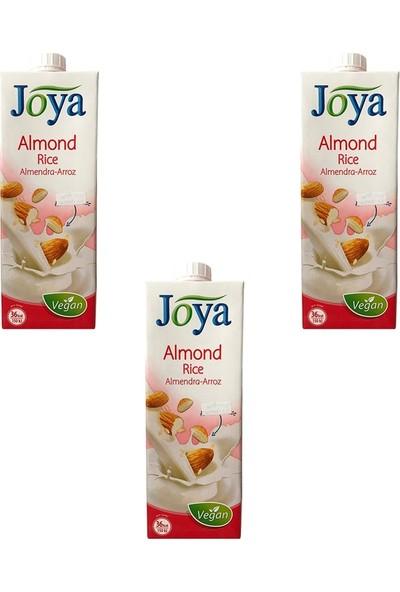 Joya Bademli Pirinçli Süt 1 Lt x 3'lü