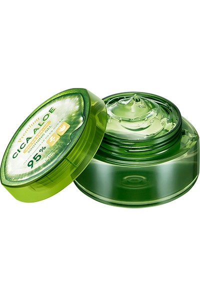 Mıssha Aloe Vera Içeren Nemlendirici ve Yatıştırıcı Jel -Premium Cica Aloe Soothing Gel