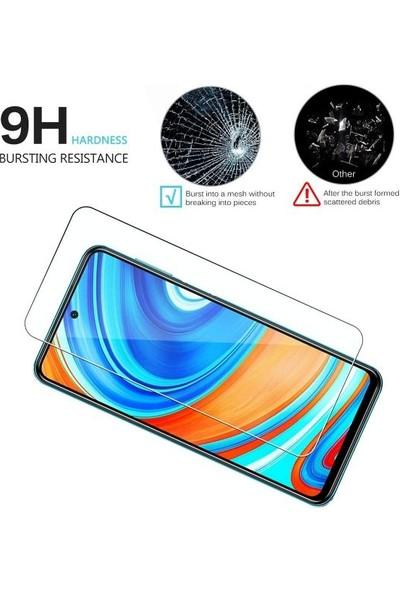 Case 4U Xiaomi Redmi Note 9S / Note 9 Pro Cam Ekran Koruyucu Nano Şeffaf