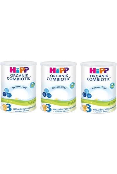 Hipp 3 Organik Combiotic Devam Sütü 350 gr 3 Adet