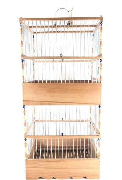 Naturbird 2 Katlı Saka Kafesi (Yekpare 2 Katlı)