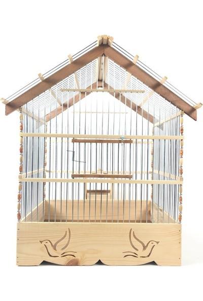 Naturbird Fin Çatı Ahşap Kafes