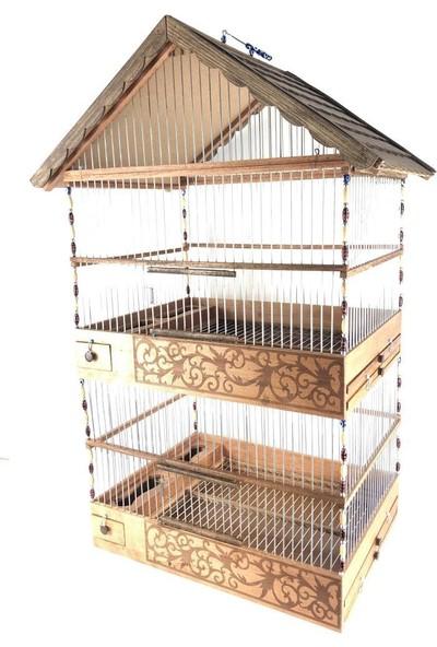 Naturbird Dublex Ahşap Kafes