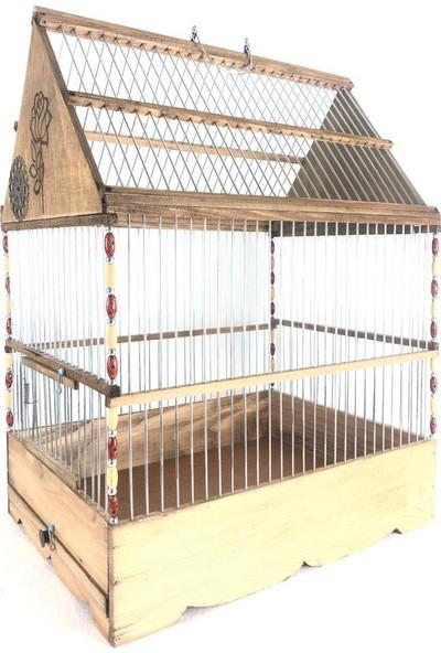 Naturbird Gül Desenli Üçgen Kafes
