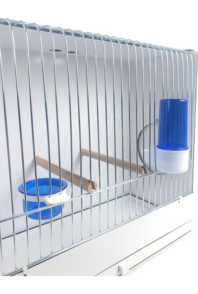 Naturbird Pvc Çekmeceli Ders Kafesi