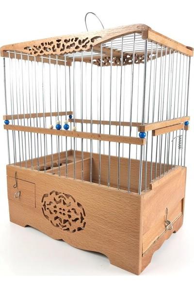 Naturbird Osmanlı Desen Ahşap Kafes