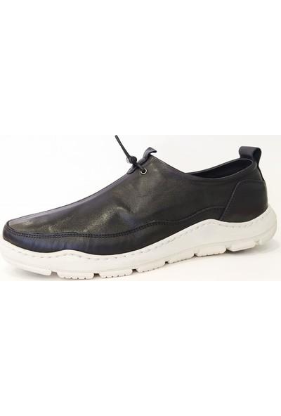 James Franco M5020 Deri Bağcıksız Günlük Erkek Ayakkabı