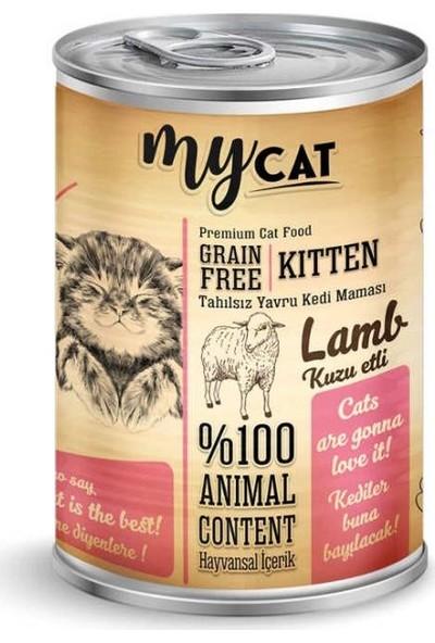 My Cat Tahılsız Kuzu Etli Yavru Kedi Konservesi 415