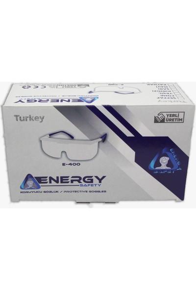 Energy Safety E400 Şeffaf Koruyucu Gözlük