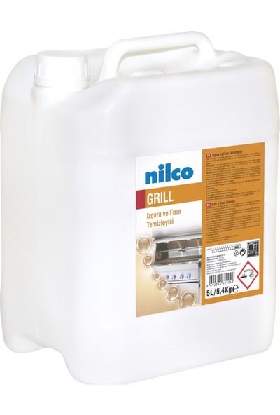 Nilco Grill 5 Lt   Yanmış Yüzey, Izgara ve Fırın Temizleyici