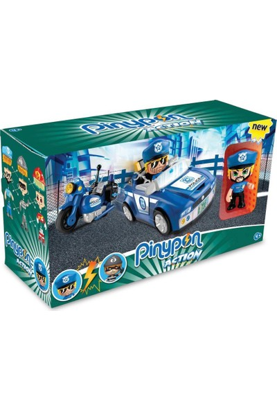 Giochi Preziosi Pinypon Action Süper Polis ve Arabası - PNC02000