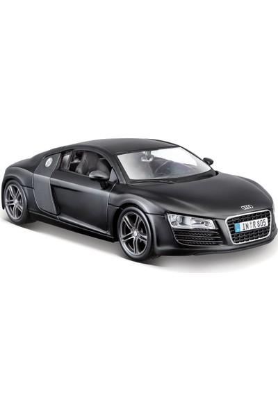 Maisto Audi R8 1:24 Model Araba Siyah