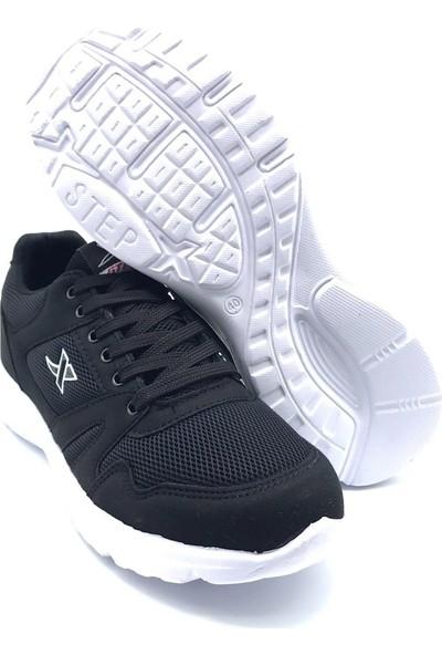 X-Step 020 Siyah-Beyaz Erkek Sneakers