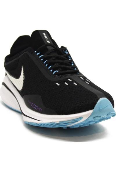 Nike Zoom Vomero Siyah-Mor Spor Ayakkabı