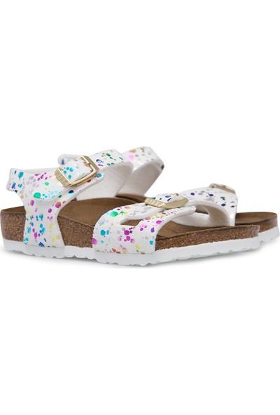 Birkenstock Rio Kids Beyaz Çocuk Sandalet