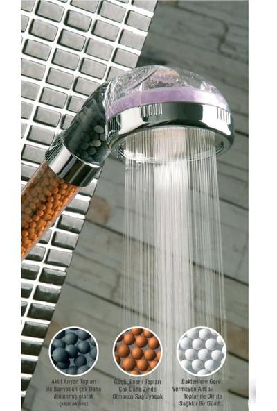 Genx Su Tasarruflu Masajlı ve Arıtmalı Duş Başlığı