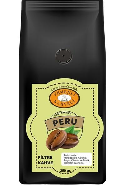 Yemenli Kahveci Peru Arabica Filtre Kahve 250 gr