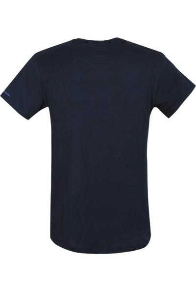 Columbia Logo Land Ss Tee CS0068 Kısa Kollu Erkek Tişörtü