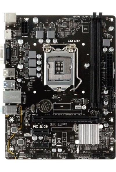 Biostar H310MHP DDR4 2666MHz 1151 Pin S+V+GL Anakart
