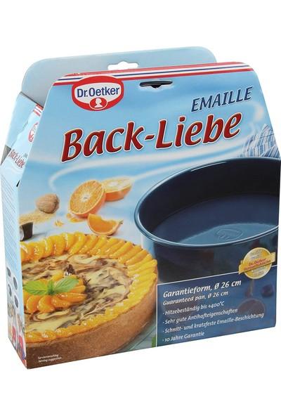 Fackelmann 2362 Back-Liebe Emaye Kalkar Tabanlı Kek Kalıbı 26 cm
