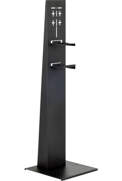 Ihya Metal Manuel El Dezenfektan Standı 34 x 34 x 138 cm