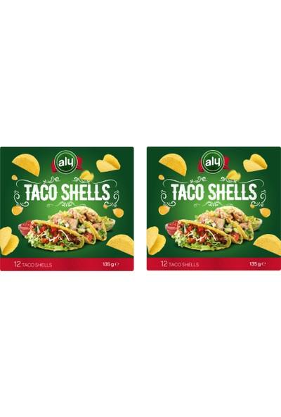 Aly Taco Shells 12 Pcs 135 gr x 2 'li