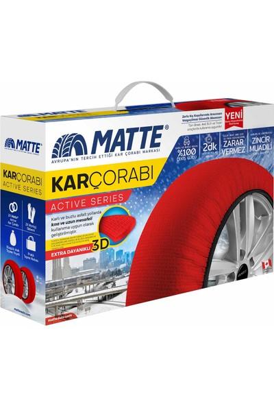 Matte Kar Çorabı - Active Series