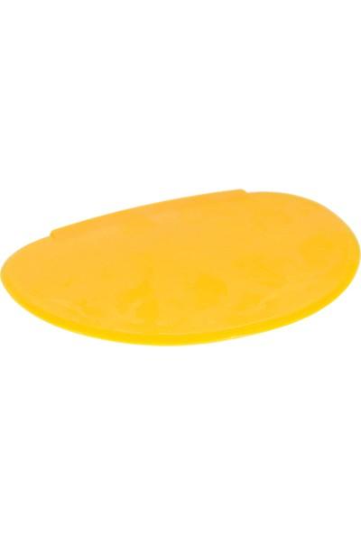 Globy Hamur Kazıyıcı Sarı Plastik Oval