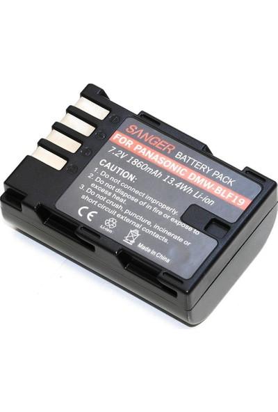 Sanger BLF19 Panasonic Fotoğraf Makinesi Batarya