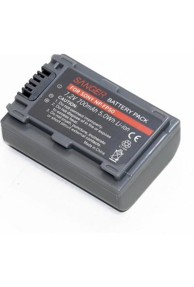 Sanger NP-FP50 Sony Kamera Batarya