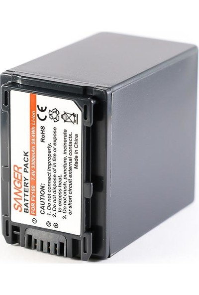 Sanger NP-FV100 Sony Kamera Batarya